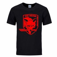 Metal Gear Solid MGS Fox Hound Video Game Mens Men T Shirt T...