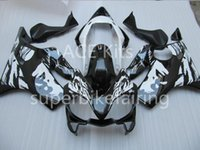 3 free gifts For Honda CBR600F4i 04 05 06 07 CBR 600F4i CBR600 2004 2002 2005 2006 2007 ABS Motorcycle fairing Black White AA64