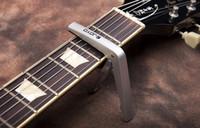 JCP-01 Renkli Plastik Gitar Capo 6 Dize Gitar Siyah Gümüş Ahşap renkler ile, Mini Gitar Seçtikleri