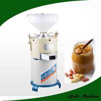 Popular máquina de fabricación de mantequilla de maní comercial 35kg / h Tahini máquina de fabricación de sésamo Máquina de fabricación de mantequilla de maní sésamo Tahini