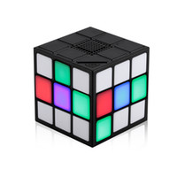 2017 Newest mini portable cube bluetooth speaker with TF car...