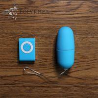 AV Sem Fio Vibrador Mp3 Para Os Ovos Brinquedos de Controle Remoto Massager Do Corpo Brinquedos Sexuais Para Produtos Adultos À Prova D 'Água de Controle Remoto Ovo Vibratório