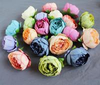 künstliche Pfingstrose Blütenköpfe Seidenblume DIY Kopfbedeckungen Verzierung Blumenzucht Hochzeit Informationen künstliche Blume Zubehör