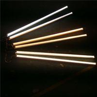 على شكل V دمج T8 LED أنبوب 2400MM 4 5 6 8 أقدام أقدام LED مصباح نيون 8FT 4FT LED ضوء أنابيب تبريد باب الإضاءة CRESTECH