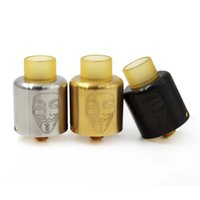 New Mask RDA Atomizers With PEI Drip tips 24mm Diameter 3 Co...