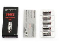 OCC vertical 100% original de Kangertech SSOCC enroule la bobine 0.15 / 0.2 / 0.5 / 1.2 / 1.5ohm pour l'atomiseur Kanger Subtank Mini V2