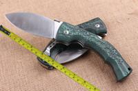 """SPEDIZIONE GRATUITA 10 """"New Large 440C lama sopravvivenza Mikat maniglia posteriore blocco coltello pieghevole VTF56"""