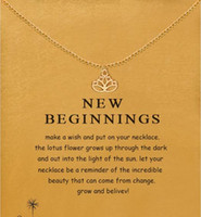 With card! silver and gold color, cute Dogeared Necklace wit...
