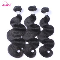 Brazilian Virgin Hair Body Wave Remy Human Hair Weaves Bundl...