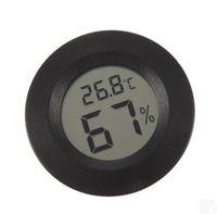 임베디드 센서 내장 원형 전자 온도계 습도계 가정용 고정밀 실내 온도 및 습도 측정기