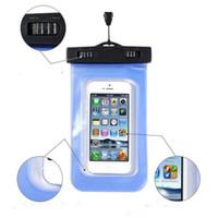 PVC Su Geçirmez telefon Kılıfı su geçirmez Kapak Sualtı Kılıfı telefonu Çantası cep telefonu Için DHL ücretsiz