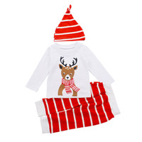 Baby Clothing Christmas Boys Girls Long Sleeve Three Piece S...