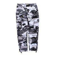 Camouflage Hommes Pantalon Cargo pleine longueur 2017 Printemps Multy Camo Hip Hop Pantalons Hommes Femmes Streetwear Tours Hommes 8 Couleurs