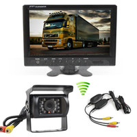 Wireless 12V DC 9inch LCD Display Rear View Car Monitor Wate...