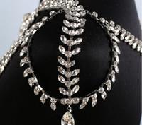 Der neue Hit der Braut Hochzeitskleid Zubehör 2017 koreanische Halskette hochwertigen Diamant Schulter Kette Hochzeitsschmuck