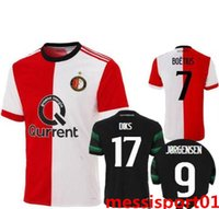 NEW 2017 2018 Top Quality Soccer Jersey Feyenoord Football S...
