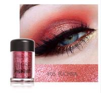 Trucco Glitter Eyeshadow trucco cosmetico trucco lucido pigmento allentato polvere bellezza maquiagem nudo occhio ombretto 12 colori