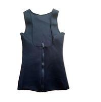 Buona A ++ Zipper lady maglia sudore abbigliamento in plastica neoprene 3 strati patch PM022 Shapers da donna