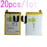 20 adet / grup 2900 mAh LIS1593ERPC Için Yedek Şarj Edilebilir Li-Polimer Pil Z5 E6653 E6683 E6603 E6883 E6633 Piller Batteria ...