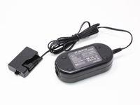 Cámara de envío gratis Adaptador de CA ACK-E10, ACKE10, DR-E10 con acoplador para Canon EOS 1100D, Rebel T3