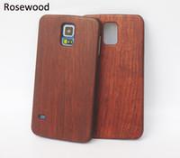 대나무 우드 삼성 갤럭시 S5 S6 S7 가장자리 s9 s8 휴대 전화 케이스에 대 한 목조 하드 다시 커버 아이폰 6 플러스 7 6s 8 X 핸드폰 케이스