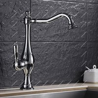 2017 Hot Sales! Chrome Gooseneck Bathroom Sink Taps with Sin...