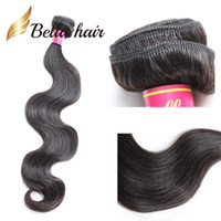 Bella Hair®11a Top Brasilianska Hårbundet 10-30 Dubbel Väft Virgin Human Hair Extensions Bella Hair Factory Outlet Cheap 1pc Retail Body Wave