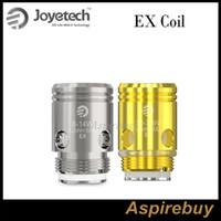 Exceed D22 D19 Vape Kalem Seti Vaporizer Atomizer% 100 Orijinal için EX Bobin EX 0.5ohm DL Bobin EX 1.2ohm MTL Coil aşmak Joyetech