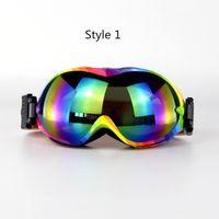 Óculos de Esqui de Snowboard Anti-fog Óculos de Esqui de Lente Dupla uv400 Polarizados para Homens Mulheres Óculos de Esqui Rrofessional Óculos de Neve