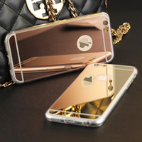 for iPhone 8 High Quality Fashion Deluxe Electroplating Mirr...