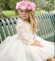 Ins Little Baby Girls Tulle Lace Dresses Kids Girls Princess...