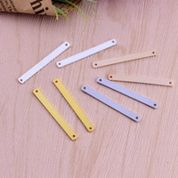 4 Color DIY Stamping Bar Stamping charms Blank bar Pendant f...