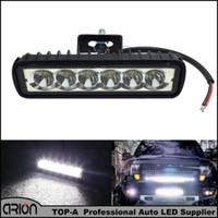 18W LEDワークライトスポットボート運転ランプ4WDスポットライト昼間ランニングライトバートラクター4x4オフロードSUVトレーラー