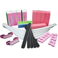 25 stks / partij groothandel wasbaar rechte stijl korea nagelbestand 100/180 kunst manicure kits freeshipping sunshine buffer