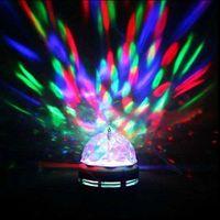 E27 RGB LED Blubs LED Efeitos Iluminação de Iluminação Automático / Som Ativado Lâmpada de Rotação de Cor Completa Da Festa de Festa de Festa de Clube Luzes