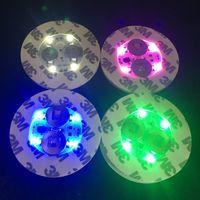 유리 봉베이스에 대 한 LED 빛 LED 빛 7 색 자동 재고 조정에 100PCcs 무료 DHL