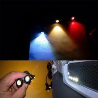 1pcs 18MM Led Eagle Eye DRL Tagfahrlicht Source-Backup Parken-Signal-Lampe wasserdicht freies Verschiffen AB