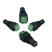 Spine jack DC potere femminile per il 3528 SMD 5050 SMD luce di striscia 5,5 x 2,1 millimetri