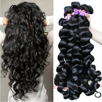 Unprocessed Brazilian Human Remy Virgin Hair Loose Wave Hair...