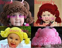 Baby Wig Hat Kid Inspired Hat Girl Cabbage Patch Wig Hat Cro...