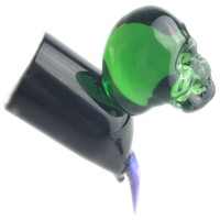 Glass Dero Fumo Nail Dabber Wax DAB Tool Tool Narghilè Variopinto Pyrex Pyrex Skull DABS Strumenti per al quarzo Banger Nails Tubi d'acqua
