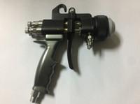 Pistola de Ar de alta Qualidade HVLP Pistola de Pintura Ferramenta de Pulverização Compressor de Ar Bico Duplo Nanômetro Pistola de Pulverização de Dois Bicos Componente