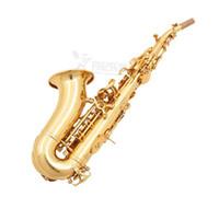 Bastet BCS-556 Kalite Altın Vernik Profesyonel Soprano B (B) Saksafon B Düz Müzik Aletleri Sax İçin Çocuk Ve Yetişkin