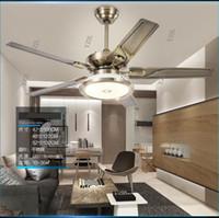 Wohnzimmer Decke Kronleuchter Fan Restaurant Fan Lampe Kronleuchter  Minimalismus Modernen Europäischen Retro Home Fans