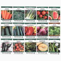 Семейная реликвия огород коллекция семян ассортимент 15 Без ГМО, легко расти, садоводство семена: морковь, лук, помидоры, горох, больше