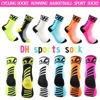 FREE SHIPPING DH sports Cycling socks running wear breathabl...