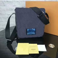 Livraison gratuite New Design Sac à main mâle Emballage Emballage N51210 Sacs Totes pour hommes GC # 189 Portefeuilles