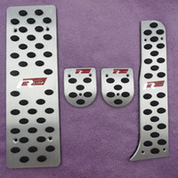 Аксессуары для VW Golf 5 / Golf 6 / Jetta Mk5 / Scirocco / Sharan / Tiguan / CC / Passat B6 алюминий Foot Rest Газ RLINE педаль Pad автомобиля Коув