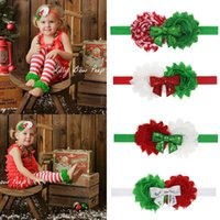 Sequin Bow Headbands for Christmas Baby First Christmas Head...