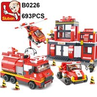 Sluban Building Blocks Fire Series Rescue Operation 693pcs s...